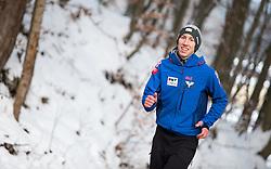 06.01.2015, Paul Ausserleitner Schanze, Bischofshofen, AUT, FIS Ski Sprung Weltcup, 63. Vierschanzentournee, Probedurchgang, im Bild Thomas Diethart (AUT) // Thomas Diethart of Austria during Trial Jump of 63rd Four Hills Tournament of FIS Ski Jumping World Cup at the Paul Ausserleitner Schanze, Bischofshofen, Austria on 2015/01/06. EXPA Pictures © 2015, PhotoCredit: EXPA/ JFK