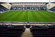 general view of Deepdale Stadium. EFL Cup match between Preston North End and Manchester City at Deepdale, Preston, England on 24 September 2019.