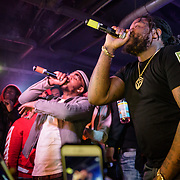 WASHINGTON, DC - December 15th, 2017 - Q Da Fool performs with Fat Trel at U Street Music Hall in Washington, D.C.  (Photo by Kyle Gustafson / For The Washington Post)