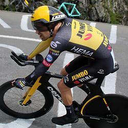 ANDERMATT (SUI) JUNE 13 <br /> Tom Dumoulin at Tour de Suisse 2021  (Photo: Sportfoto/Orange Pictures)
