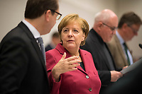 DEU, Deutschland, Germany, Berlin, 11.12.2017: Bundeskanzlerin Dr. Angela Merkel (CDU) vor Beginn der Fraktionssitzung der CDU/CSU im Deutschen Bundestag.