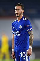 Football - 2020 / 2021 Europa League - Group F - Leicester City vs Zorya Luhansk - King Power Stadium<br /> <br /> Leicester City's James Maddison.<br /> <br /> COLORSPORT/ASHLEY WESTERN