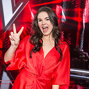 NLD/Hilversum/20180126 - The Voice of Holland 2017 show 1, Nienke Wijnhoven