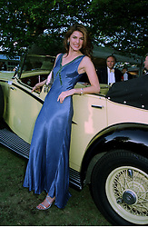 Model CHRISTINA ESTRADA, she is engaged to Sol Kerzner owner of Sun City in South Africa, at a reception in London on 7th June 1997.LZA 68