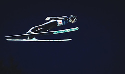 29.09.2018, Energie AG Skisprung Arena, Hinzenbach, AUT, FIS Ski Sprung, Sommer Grand Prix, Hinzenbach, im Bild Clemens Aigner (AUT) // Clemens Aigner of Austria during FIS Ski Jumping Summer Grand Prix at the Energie AG Skisprung Arena, Hinzenbach, Austria on 2018/09/29. EXPA Pictures © 2018, PhotoCredit: EXPA/ Stefanie Oberhauser
