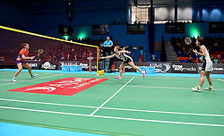 Mizuki Fuji of Bristol Jets and Jess Hopton of Bristol Jets  - Photo mandatory by-line: Robbie Stephenson/JMP - 07/11/2016 - BADMINTON - University of Derby - Derby, England - Team Derby v Bristol Jets - AJ Bell National Badminton League