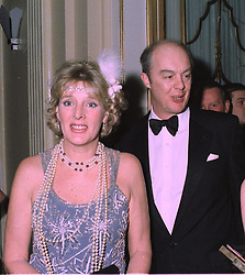 The EARL & COUNTESS OF WESTMORLAND at a party in London on 27th January 1998.MEW 22 2OLO