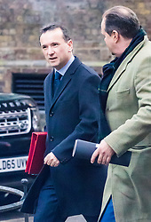 London, November 14 2017. Secretary of State for Wales Alun Cairns attends the UK cabinet meeting at Downing Street. © Paul Davey