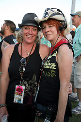 04 May 2012. New Orleans, Louisiana,  USA. .New Orleans Jazz and Heritage Festival. .Jazzfest organisers..Photo; Charlie Varley.