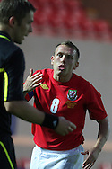 Craig Bellamy of Wales.  friendly international match, Wales v Luxembourg at the Parc y Scarlets stadium in  Llanelli on Wed 11th August 2010. pic by Andrew Orchard, Andrew Orchard sports photography,