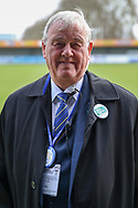 Security staff wearing level playing field badge  during the EFL Sky Bet League 1 match between AFC Wimbledon and Bolton Wanderers at the Cherry Red Records Stadium, Kingston, England on 7 March 2020.