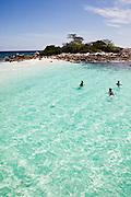 Fun and snorkeling on Raja Islands, Phuket.