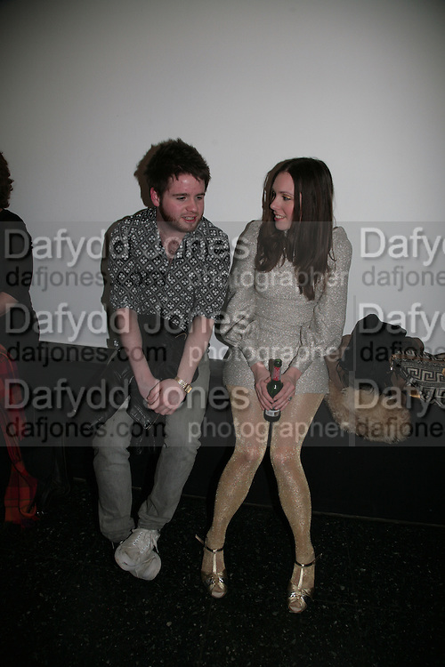 Greg Bailey and Rosie Holland, The Secret public/The Last Days of the British Underground. 1978-1988. I.C.A. London.  21 March 2007.  -DO NOT ARCHIVE-© Copyright Photograph by Dafydd Jones. 248 Clapham Rd. London SW9 0PZ. Tel 0207 820 0771. www.dafjones.com.