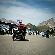 Motociclisti sulle Dolomiti: Passo Sella