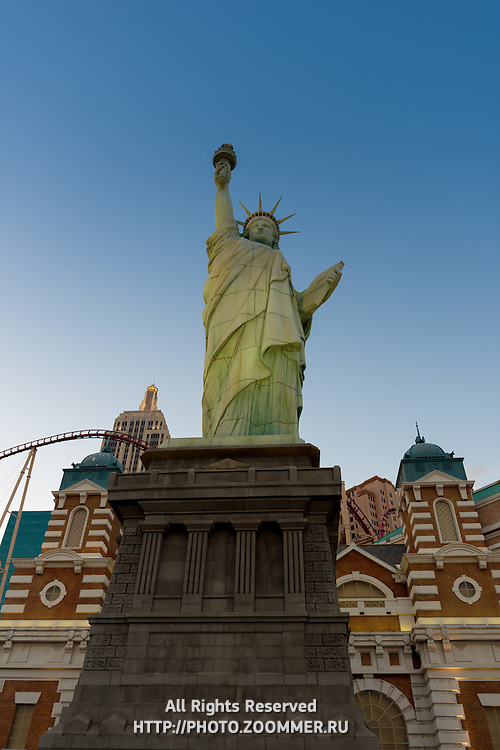Statue of Liberty Copy in Las Vegas