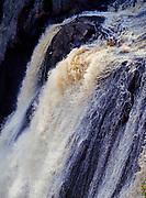High Falls on the Baptism River, highest waterfall in Minnesota, Tettegouche State Park, Minnesota.