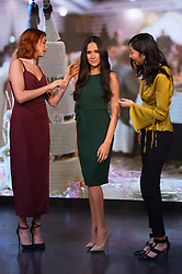 © Licensed to London News Pictures. 09/05/2018. London, UK.  Visitors news a new waxwork of MEGHAN MARKLE appears at Madame Tussaud's. The American actress from the US TV series Suits, will marry HRH PRINCE HARRY at Windsor Castle later this month on May 19th. 2018Photo credit: Ray Tang/LNP