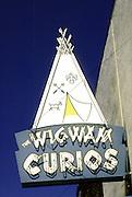 Tourist attraction, Flagstaff, Arizona, along historic Route 66, USA.