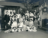 1923 Christmas day at the Hollywood Studio Club on Carlos Ave.