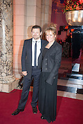 Andy Serkis; Lorraine Ashbourne<br /> , Hollywood Costume gala dinner, V and A. London. 16 October 2012