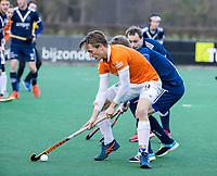BLOEMENDAAL -   Jorrit Croon (Bldaal)  .oefenwedstrijd hockey heren, Bloemendaal H1- Pinoke H1 (3-2).  COPYRIGHT KOEN SUYK