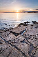 Sunset from Washington Park Anacortes Washington