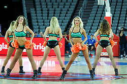 Cheerleaders during basketball match between Slovenia vs Netherlands at Day 4 in Group C of FIBA Europe Eurobasket 2015, on September 8, 2015, in Arena Zagreb, Croatia. Photo by Matic Klansek Velej / Sportida
