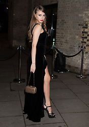 Jessica Alexander, Xenia Tchoumi, attend the Fabulous Fund Fair Arrivals at The Roundhouse, London, 18 February, 2019.<br /><br />18 February 2019.<br /><br />Please byline: Vantagenews.com