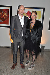 DINOS & TIPHAINE CHAPMAN at the Whitechapel Gallery Art Plus Opera gala in association with Swarovski held at the Whitechapel Gallery, London on 15th March 2012.