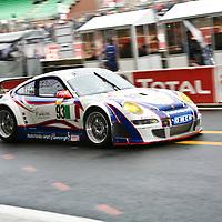 #93 Porsche 997 GT3 RSR, Autorlando Sport (drivers: Allan Simonsen, Pierre Ehret, Lars Nielsen) at Le Mans 24H on 16 June 2007