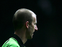 Photo: Andrew Unwin.<br /> Newcastle United v Liverpool. The Barclays Premiership. 19/03/2006.<br /> A profile of the referee, Mike Riley.