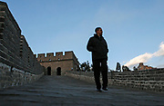 U.S. President Barack Obama tours Badaling section of the Great Wall on the outskirts of Beijing, November 18, 2009. REUTERS/Jim Young