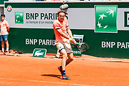 Alexander Szerev (ger) during the Roland Garros French Tennis Open 2018, day 8, on June 3, 2018, at the Roland Garros Stadium in Paris, France - Photo Pierre Charlier / ProSportsImages / DPPI