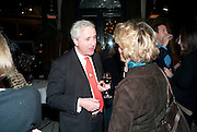 HUGO VICKERS, The launch party of BloomsburyÕs publication of Why not say what happened?, a memoir by Ivana Lowell  hosted by Ivana Lowell and Catherine Ostler, at WheelerÕs of St. JamesÕs. London.  -DO NOT ARCHIVE-© Copyright Photograph by Dafydd Jones. 248 Clapham Rd. London SW9 0PZ. Tel 0207 820 0771. www.dafjones.com.<br /> HUGO VICKERS, The launch party of Bloomsbury's publication of Why not say what happened?, a memoir by Ivana Lowell  hosted by Ivana Lowell and Catherine Ostler, at Wheeler's of St. James's. London.  -DO NOT ARCHIVE-© Copyright Photograph by Dafydd Jones. 248 Clapham Rd. London SW9 0PZ. Tel 0207 820 0771. www.dafjones.com.