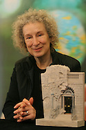 Internationally-renowned bestselling Canadian author Margaret Atwood is pictured signing copies of her books after appearing at a special event to receive the 2005 Edinburgh International Book Festival Enlightenment Award trophy. The Edinburgh International Book Festival is the world's largest literary event, with over 500 authors from across the world participating each year and ran from 13-29 August. Edinburgh was named the world's first UNESCO City of Literature in 2004.