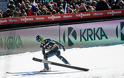 Domen Prevc of Slovenia during the Trial Round of the Ski Flying Hill Individual Competition at Day 1 of FIS Ski Jumping World Cup Final 2019, on March 21, 2019 in Planica, Slovenia. Photo by Vid Ponikvar / Sportida