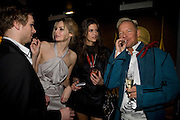 ANDY JAMES, TAMSIN EGERTON, CHLOE PRIDHAM AND TONY HICKOX. Patti and Andy Wong  host a night of Surrealism to Celebrate the Chinese Year of the Rat. County Hall Gallery and Dali Universe. London. 27 January 2008. -DO NOT ARCHIVE-© Copyright Photograph by Dafydd Jones. 248 Clapham Rd. London SW9 0PZ. Tel 0207 820 0771. www.dafjones.com.