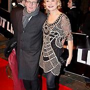 NLD/Amsterdam/20081208 - Premiere Wit Licht, Monique van der Ven en partner Edwin de Vries