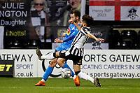 Adam Thomas. Notts County FC 1-0 Stockport County FC. Vanarama National League. 15.12.20
