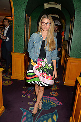 IRENE FORTE at a party for the UK launch of Mr Boho held at Annabel's, 44 Berkeley Square, London on 19th May 2016.