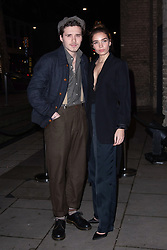 February 18, 2019 - London, New York, United Kingdom of Great Britain and Northern Ireland - Brooklyn Beckham and Hana Cross arriving at the Fabulous Fund Fair at The Roundhouse on February 18 2019 in London, England  (Credit Image: © Famous/Ace Pictures via ZUMA Press)