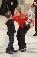 Enfant Elena of Spain awards Alejandro Rodriguez during the 2013 Sports National Awards ceremony at El Pardo palace in Madrid, Spain. December 03, 2014. (ALTERPHOTOS/Victor Blanco)