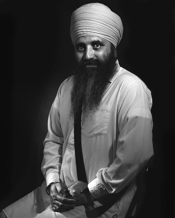 Sardar Satnam Singh formal portrait.
