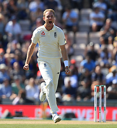 File photo dated 02-09-2018 of England's Stuart Broad celebrates.