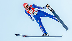 29.01.2017, Casino Arena, Seefeld, AUT, FIS Weltcup Nordische Kombination, Seefeld Triple, Skisprung, im Bild Bjoern Kircheisen (GER) // Bjoern Kircheisen of Germany in action during his Competition Jump of Skijumping of the FIS Nordic Combined World Cup Seefeld Triple at the Casino Arena in Seefeld, Austria on 2017/01/29. EXPA Pictures © 2017, PhotoCredit: EXPA/ JFK