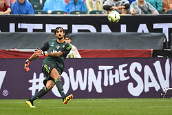 July 25, 2018 - Philadelphia, PA, U.S. - PHILADELPHIA, PA - JULY 25: Juventus goal keeper Mattia Perin (19) kicks the ball during a International Champions Cup match between Juventus and FC Bayern Munich on July 25,2018, at Lincoln Financial Field in Philadelphia,PA. Juventus won 2-0. (Photo by Andy Lewis/Icon Sportswire) (Credit Image: © Andy Lewis/Icon SMI via ZUMA Press)