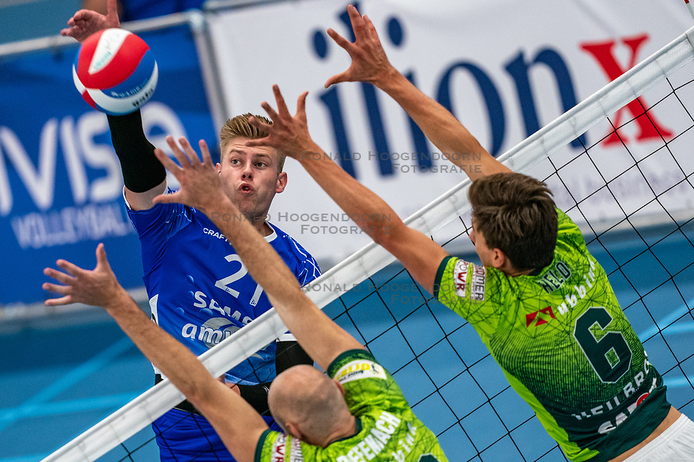 Bennie Tuinstra #21 of Lycurgus in action during the supercup final between Amysoft Lycurgus - Active Living Orion on October 04, 2020 in Van der Knaaphal, Ede