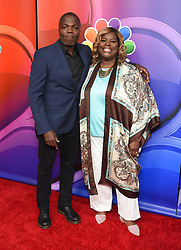 February 20, 2019 - Hollywood, California, U.S. - Reno Wilson and Retta on the carpet at the NBCUniversal Mid Season Press Junket at Universal Studios. (Credit Image: © Lisa O'Connor/ZUMA Wire)