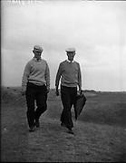 Golf - Irish Amateur Golf Championships at Portmarnock.22/06/1959