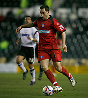 Richard Garcia of Colchester attacking